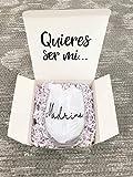 Madrina Gift, Godmother Proposal Gift, Godmother Box, Will you be my Godmother, Baptism Godmother, Godmother Wine glass, Godparent Gift