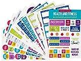Essentials Health & Fitness Planner Stickers (Set of 325 Stickers)