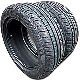 Set of 2 (TWO) Premiorri Solazo S Plus High Performance Radial Tires-225/55R17 97W