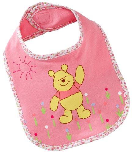 Disney 70138 - Bavaglino di Winnie the Pooh, in jersey singolo, taglia unica, colore: Rosa