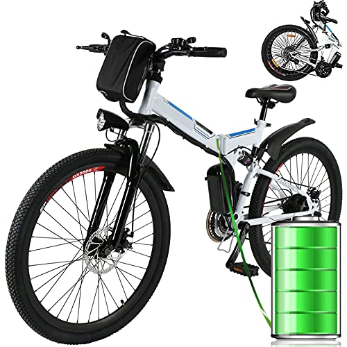 Aceshin 26 inch Folding Electric Mountain Bike