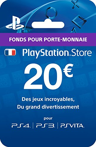 Carte Playstation Store - 20€ Ps4