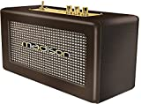 Madison Freesound-Vintage-Wd - Altavoz Bluetooth, Marrón