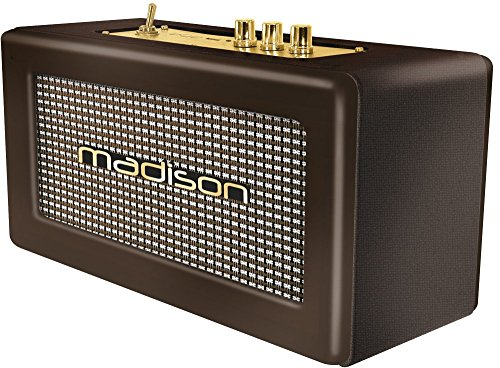 Madison Freesound-Vintage-Wd - Altavoz Bluetooth