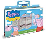 Multiprint- VALISETTE 7 TAMPONS Peppa Pig, 7875