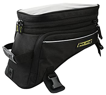 Nelson-Rigg Trails End Adventure Motorcycle Tank Bag RG-1045 Black Holds 12.39/16.52 liters