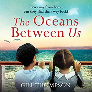 The Oceans Between Us audiobook cover art