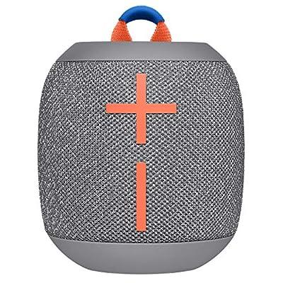 ULTIMATE EARS WONDERBOOM 2, Portable Wireless Bluetooth Speaker, Big Bass 360 Sound, Waterproof / Dustproof IP67, Floatable, 100 Ft Range - Ice Grey