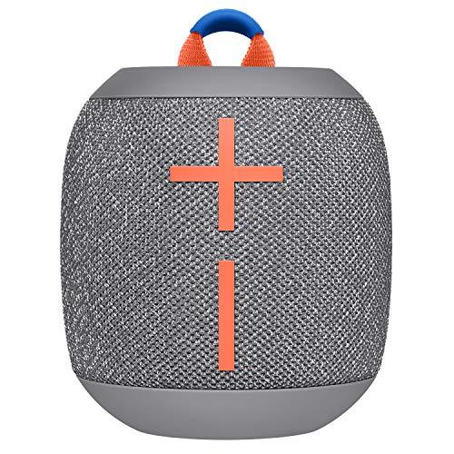Ultimate Ears Wonderboom 2 Altoparlanti Bluetooth Wireless Portatili, Suono 360°, Bassi Potenti, Outdoor Boost, Impermeabile, Accoppia 2 Speaker per True Stereo, Batteria 13 ore, Grigio