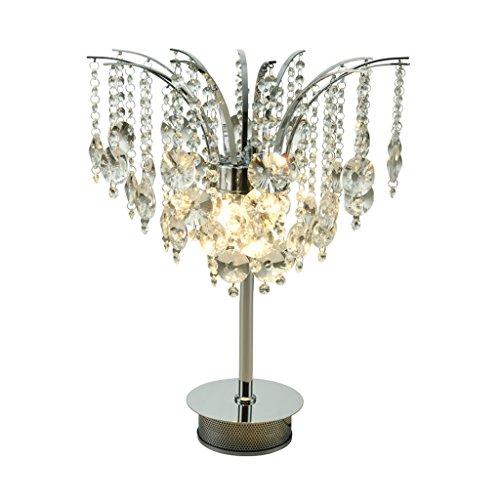 Lampe de table Cristal Chambre Simple Moderne LED Chambre Chevet Creative Study Lamp
