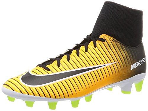 Nike Herren Mercurial Victory Vi Df Agpro Fußballschuhe, Orange (Laser Orange/Black/White/Volt), 38.5 EU