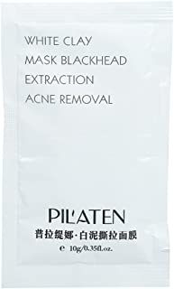 PILATEN White Mud Mask Blackhead Acne Treatments Removal Pore Cleansing Peel-off Mask(1 Pack)