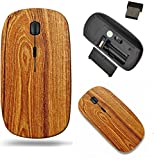 Liili Wireless Mouse Travel 2.4G Wireless Mice with USB Receiver, Click with 1000 DPI for Notebook, pc, Laptop, Computer, mac Book Wood Grain Background Useful for Making Fonts Photo 2292080
