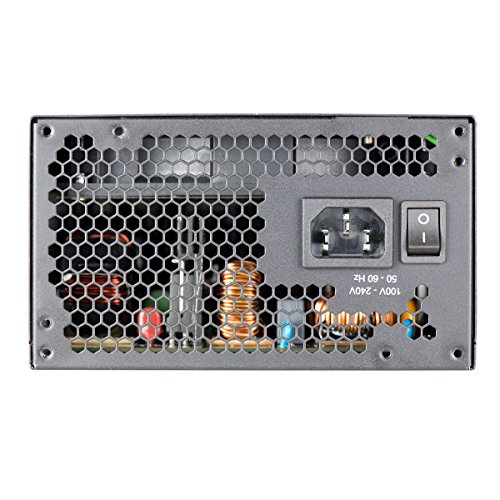 EVGA 210-GQ-1000-V1,1000 GQ, 80+ GOLD 1000W, Semi Modular, EVGA ECO Mode, 5 Year Warranty, Power Supply,Black