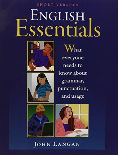 English Essentials, Short Version