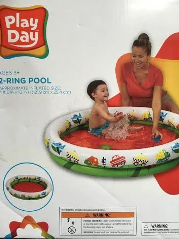 respuestas rápidas Jugar Day Inflatable Kiddie Kiddie Kiddie Pool by Jugar Day  Entrega rápida y envío gratis en todos los pedidos.