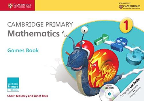 Cambridge Primary Mathematics Stage 1 Games Book with CD-ROM (Cambridge Primary Maths)