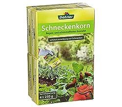 Dehner Schneckenkorn, 4 x 250 g (1 kg), für ca. 1,600 qm