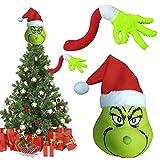 Rvtkak Grinch - Decoración para árbol de Navidad con adorno para árbol de Navidad
