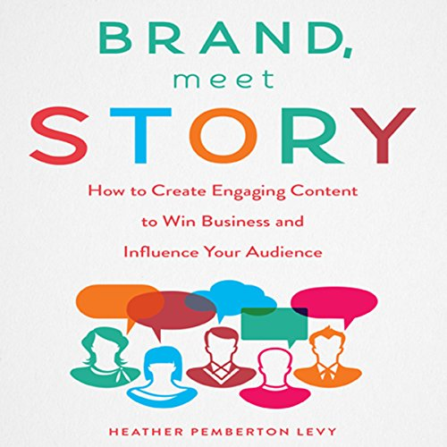 Brand, Meet Story audiobook cover art