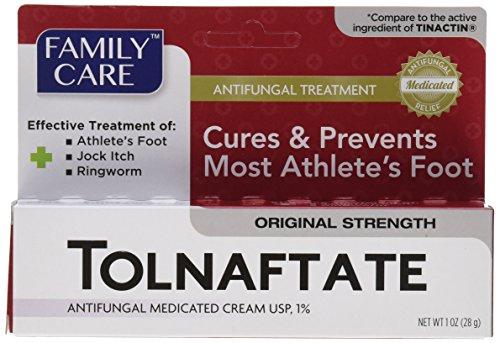 Tolnaftate Cream USP 1% Antifungal Compare to Tinactin