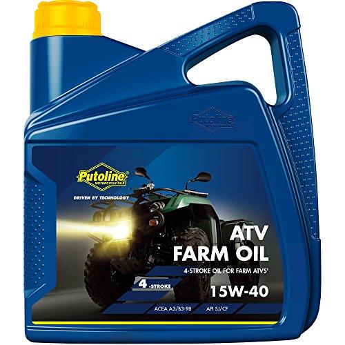 Putoline 70024 Aceite de Motor ATV Farm Oil 15W-40 4L, 4Liter