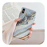 for iPhone 12 ProMaxケース用GradientOcean Marble Phone Cases for iPhone 12 11 Pro Max XR XS Max 7 8 6 Plus X SoftIMDカバーコック用-c-for iPhone 11 Pro