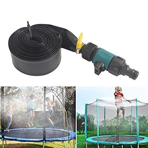 MBZL Trampoline Waterpark Outdoor Trampoline Sprinklers Water Play Sprinklers Fun Summer Outdoor Water Sprinklers (Color : Blue, Size : 49.2 Ft/15M)
