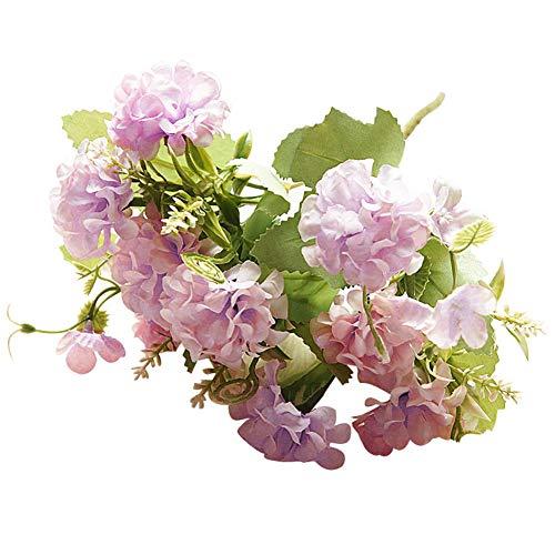 Homeofying - 1 Pieza de Flores Artificiales para decoración de Bodas, Fiestas y Otras Ocasiones Especiales