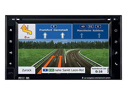 ESX Naviceiver VN620W inkl DAB und TMC Module 2DIN Navi mit Einbauset für Opel Mokka (J-A) 2012-2016 mit LFB/PDC