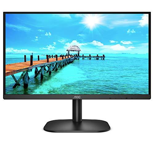 AOC 24B2XDAM – 24 Zoll FHD Monitor (1920×1080, 75 Hz, VGA, DVI, HDMI) schwarz - 5