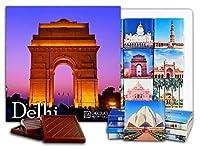 """DA CHOCOLATE キャンディ スーベニア """"デリー"""" DELHI チョコレートセット 5×5一箱 (India Gate)"""