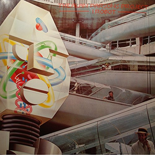 THE ALAN PARSONS PROJECT i robot LP 1977 Arista - the voice VG++