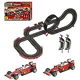 Carrera GO!!! 62505 Ferrari Race Spirit Electric Slot Car Racing Track Set System 1:43 Scale