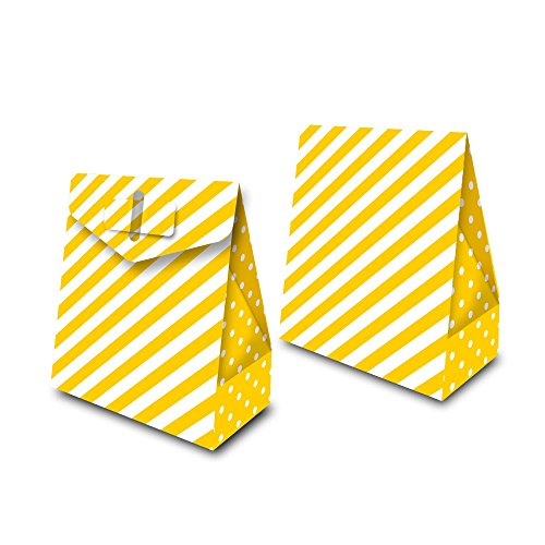Regina Caixa Surpresa Fa R570 Festa Colors Amarelo Pacote De 8 unidades
