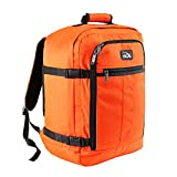 <span class='highlight'>Cabin</span> <span class='highlight'>Max</span> Mini Metz 30 Litre Travel Hand Luggage Backpack – 45 x 35 x 20 cm (Orange)