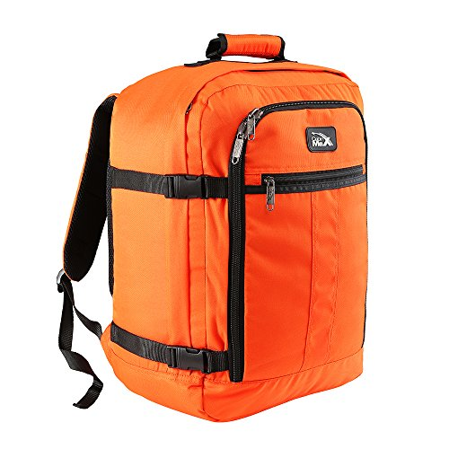 Cabin Max Mini Metz 30 Litre Travel Hand Luggage Backpack - 45 x 35 x 20 cm (Orange)