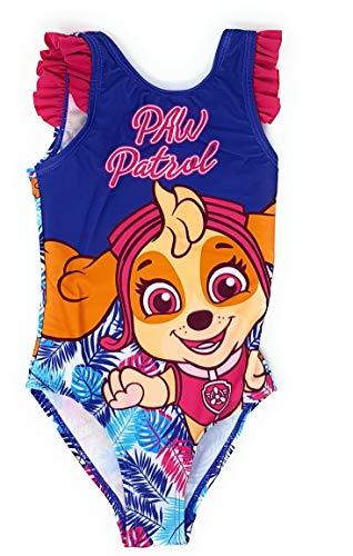 Paw-Patrol Mädchen Badeanzug (Lila, 3 Jahre (Herstellergröße 98))