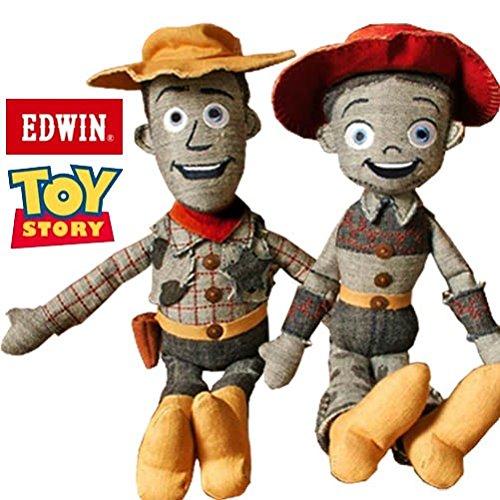 TOY STORY x EDWIN デニムドール WOODY&JESSIE