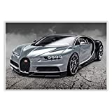 CanvasArts Bugatti Chiron - Poster (100 x 70 cm, Poster)