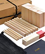 London Jaques Kubb Outdoor Game - Garden games for all ages - Quality Games since 1795