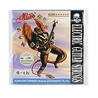 Alice D-4th超軽い張力、スチールコアニッケル合金線、エレクトリックギター弦