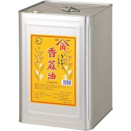 かどや 香麻油 缶 16.5Kg