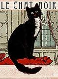 Placa de metal de estaño Cartel de metal con tres divertidos gatitos de estaño, signo vintage con flores de gato, recuerde a bar, club, cafetería, decoración de pared, 20 x 30 cm