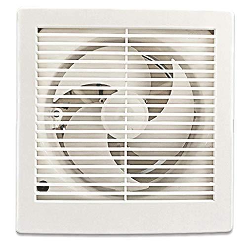 Ventilador fuerte ventilador de escape extractor de escape extractor de extractor de pared de montaje en pared y ventilador de escape de techo incorporado ventilador de ventilación para el hogar para