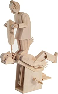 Timberkits Demon Dentist Self-Assembly Wooden Construction Moving Automata Mod