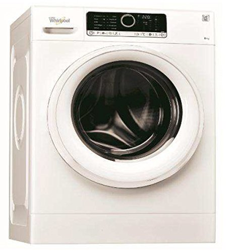 Whirlpool FSCR80413 Libera installazione Carica frontale 8kg 1400Giri/min A+++ Bianco lavatrice