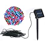 Vlio 8Modes Led Solar Power Fairy String Lights Outdoor Decorative Light 100 LEDs Waterproof IP44 with Light for Garden…