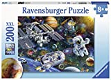 Ravensburger 12692 Cosmic Exploration, 200 Piece Puzzle for Kids, Every Piece is Unique, Pieces Fit Together Perfectly, Multi, 19.5