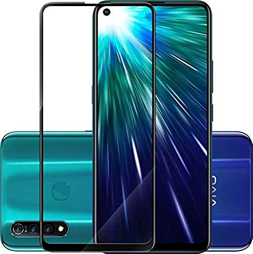 JGDWORLD Full Coverage Edge to Edge 11D Tempered Glass Screen Protector for Vivo Z1 pro